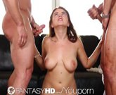 FantasyHD Teen Marina Visconti gets fucked in every hole